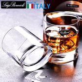 進口水晶玻璃白酒烈酒洋酒杯威士忌酒杯四方啤酒杯家用茶杯 月光節85折