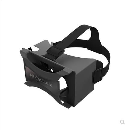 谷歌google Cardboard 2代VR眼鏡虛擬現實手機專用頭戴式Daydream 浪漫西街