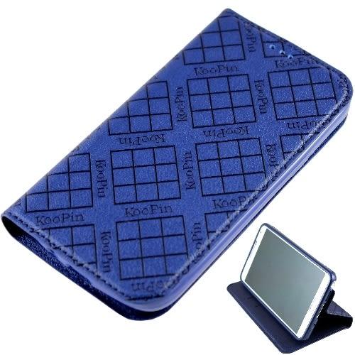 KooPin Samsung Galaxy J 隱磁系列 超薄可立式側掀皮套