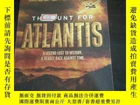 二手書博民逛書店英文原版罕見THE HUNT FOR ATLANTIS ANDY MCDERMOTTY254691