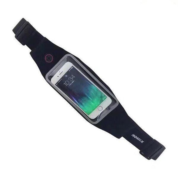 【CHENY】運動腰包 音樂手機包 旅遊包 貼身包 觸屏腰包