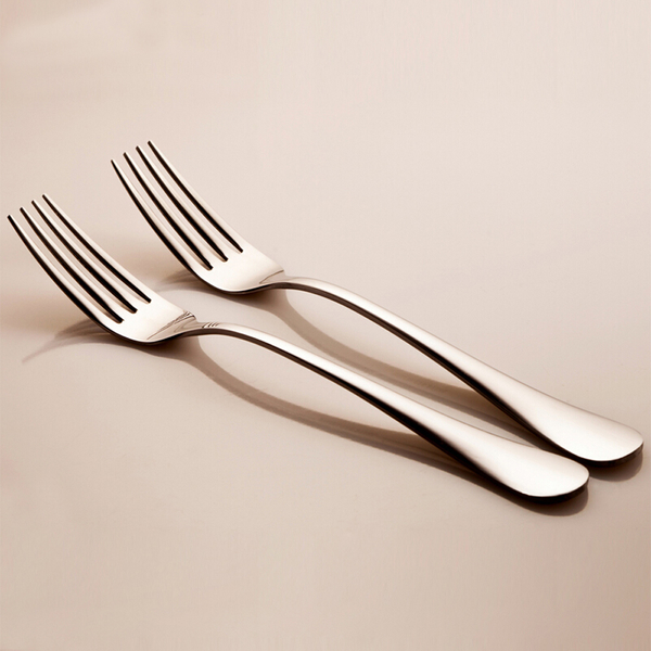 PUSH! 餐具不銹鋼叉子牛排叉水果沙拉叉西餐叉餐叉3入組E34
