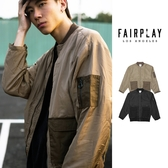 【GT】FairPlay Noah 黑棕 外套 MA-1 防風 夾克 寬鬆 機能 軍裝 工裝 美牌 飛行夾克 空軍外套