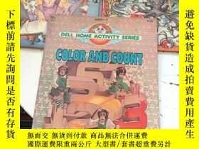 二手書博民逛書店DELL罕見HOME ACTIVITY SERIES—Color