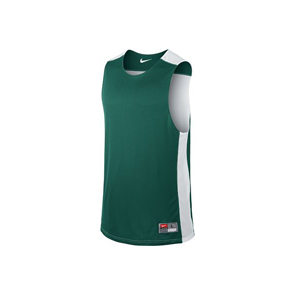 Nike AS M League REV Tank [631064-342] 男 籃球 訓練 背心 透氣 雙面穿 綠白
