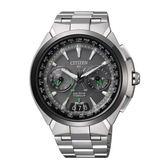 ITIZEN GENTS 鈦金屬光動能衛星對時錶款/CC1086-50E