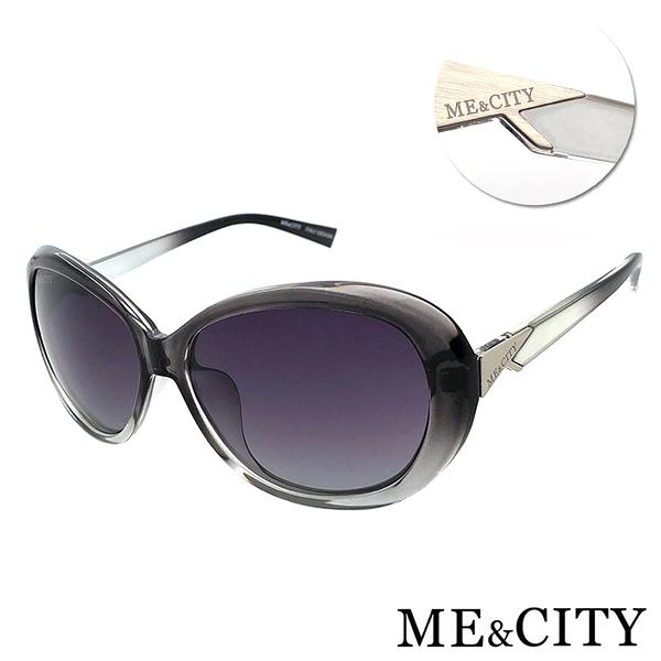 ME&CITY 歐美偏光簡約太陽眼鏡 永恆的印記 抗UV400 (ME22000 C01)