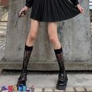 中筒襪襪子女蕾絲小腿襪洛麗塔襪子女中長筒花邊日系網紗性感lolita短襪jk可愛【寶貝 新品】
