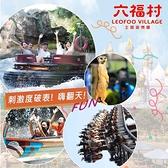 2張組↘六福村主題遊樂園午後(12:00後入園)$580