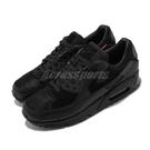 Nike 休閒鞋 Air Max 90 QS Infrared Blend 黑 紅 男鞋 女鞋 運動鞋 拼接 麂皮 【ACS】 CZ5588-002