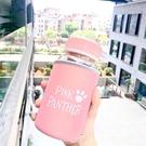 大容量玻璃韓國可愛清新簡約便攜水杯創意潮流韓版女學生花茶杯子