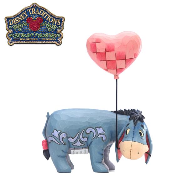 【正版授權】Enesco 屹耳 愛心氣球 塑像 公仔 精品雕塑 小熊維尼 迪士尼 Disney - 219308