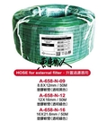 UP 雅柏【圓桶進出水軟管==16/22mm(透明綠) 】耐高壓、耐酸鹼、無鉛無毒—原裝1捲50公尺 魚事職人