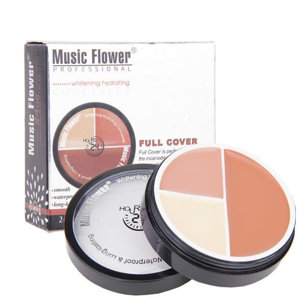 Music Flower 三色粉底膏 三色遮瑕 丙級考試【櫻桃飾品】【20533】