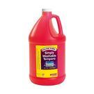 【美國Colorations】易洗式小童顏料-基本紅(一加侖)