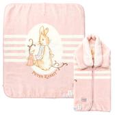 【奇哥】經典比得兔嬰兒防踢袖毯禮盒-粉紅