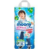 【滿意寶寶Mamypoko 】日本頂級超薄紙尿褲-男用(XXL)(26片/包) x 3入