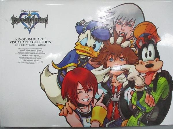 【書寶二手書T1/藝術_WEZ】Kingdom Hearts Visual Collection Hardcover Art Book
