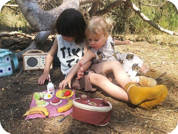 【美國Tender Leaf Toys】好友野餐趣味包(食材家家酒-野餐配件)
