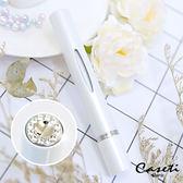 【Caseti】旅行香水瓶 香水筆 香水攜帶瓶 香水分裝瓶 (白色)