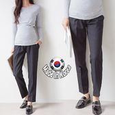 【愛天使孕婦裝】正韓國空運(62449)上班族媽咪 正式感西裝褲 孕婦褲(可調腰圍)