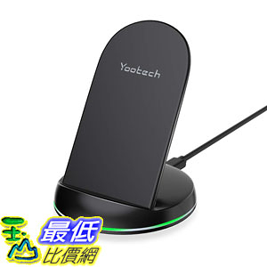 [8美國直購] 無線充電器 Yootech Wireless Charger Qi-Certified 7.5W Wireless Charging Stand Compatible