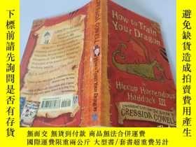 二手書博民逛書店How罕見to Train Your Dragon:如何訓練你的龍Y200392