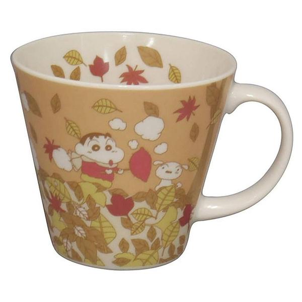 【震撼精品百貨】蠟筆小新_Crayon Shin-chan~小新陶瓷馬克杯(四季/秋/340ML) 日本製#17728