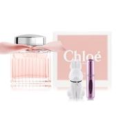 Chloe' 粉漾玫瑰女性淡香水50ml+贈擴香石&分裝瓶-隨機