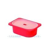 【九元  】聯府AW51 5 小卡拉1 號附蓋儲物盒紅置物收納AW515
