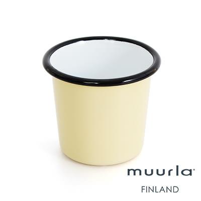 里和Riho Muurla北歐手工經典-琺瑯杯(香草) 水杯 牛奶杯 茶杯