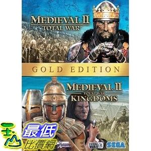 [7美國直購] 2018 amazon 亞馬遜暢銷軟體 Medieval II Gold Pack Total War, Total War Kingdoms PC