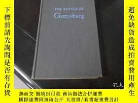 二手書博民逛書店THE罕見BATTLE OF Gettysburg (精裝毛裝本