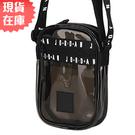 【現貨】NIKE JORDAN JUMPMAN 背包 側背 透明 黑【運動世界】JD2023009GS-002