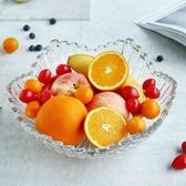 青蘋果玻璃創意旋律深盤歐式客廳家用大號水果盤堅果零食果斗果籃 HM 雙十二全館免運
