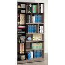 【森可家居】奧拉古橡色3尺開放式書櫥 8SB223-2 書櫃