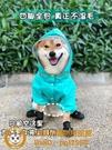 柴犬狗雨衣四腳全包中型犬寵物雨披雪納瑞柯基泰迪狗雨天衣服防水【小獅子】