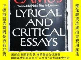 二手書博民逛書店Lyrical罕見and Critical Essays   C