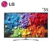 【LG 樂金】55型 SUPER UHD 1奈米 4K 液晶電視(55SK8000PWA)