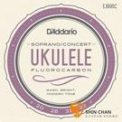 【缺貨】美國 DAddario EJ99SC 21/23吋烏克麗麗弦 碳纖維 Soprano / Concert 【Ukulele/FLUOROCARBON】