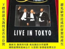 二手書博民逛書店the罕見3 tenors live in tokyo 舞臺劇場