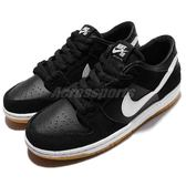 Nike 滑板鞋 SB Zoom Dunk Low Pro 黑 白 膠底 黑底白勾 運動鞋 男鞋 【PUMP306】 854866-019