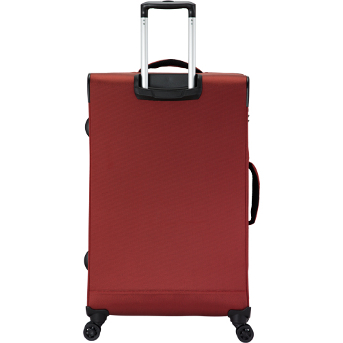 COSSACK LEADING領航系列3 布箱可加大 行李箱/旅行箱24吋-磚紅色-