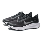 NIKE 慢跑鞋 ZOOM WINFLO 8 黑白 氣墊 輕量 男 (布魯克林) CW3419-006