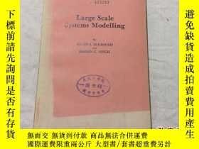二手書博民逛書店Large罕見Scale Systems Modelling 大