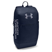Under Armour UA Patterson 背包 後背包 電腦隔層 前置防潑水 水壺袋 休閒 藍【運動世界】1327792-408