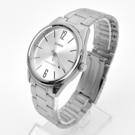 CASIO手錶 極簡數字銀色鋼錶NECE18