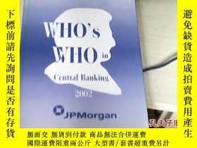 二手書博民逛書店·WHO s罕見WHO in Central Banking 2