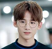 ~TT ~韓國明星同款文藝防藍光小框眼鏡框架男無度數平光鏡女電腦護目圓框護眼