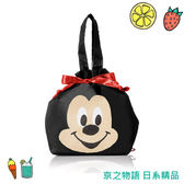 【京之物語】日本ROOTOTE迪士尼防水尼龍保溫保冷束口袋 手提袋 午餐袋 現貨